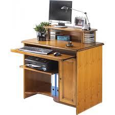 rehausse bureau bureau informatique avec rehausse merisier louis lestendances fr