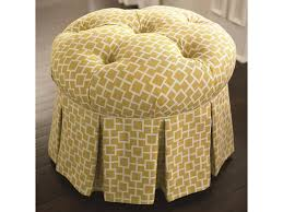 Country Ottomans by Bassett Hgtv Home Design Studio Country Cottage Styled Round