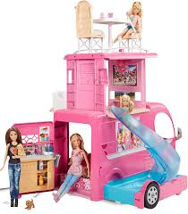 amazon barbie pop camper vehicle toys u0026 games