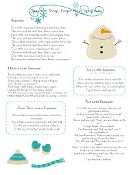 mrs home ec snowman preschool lesson teaching