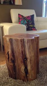 tree stump accent table excellent wood stump side tables end tables coffee tablesrustic