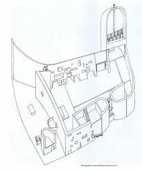 notre dame du haut floor plan le corbusier charles édouard jeanneret gris 1887 1965 la