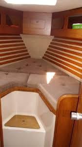 Small Boat Interior Design Ideas 43 Best V Berth Images On Pinterest Sailboat Interior Yacht