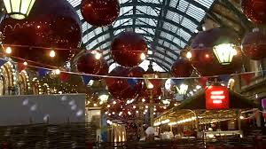 christmas markets and lights in london covent garden youtube