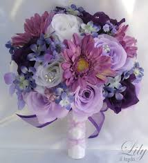 silk flowers for wedding gorgeous wedding flowers artificial silk flower wedding bouquet