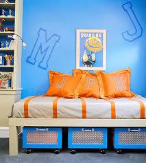 orange and blue bedroom decorating boys bedrooms abode