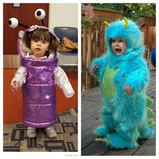 Cute Monster Halloween Costumes by Brother Sister Monsters Inc Costumes Simple Joy Pinterest