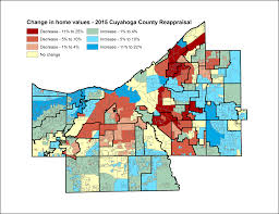 Map Of Northeast Ohio by How Much Cuyahoga County Thinks Your House Is Worth Compare Your