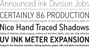 Seeking Font Bryant Compressed Font Family Process Type Foundry