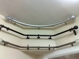 Best 25 Double Curtain Rods by Bay Window Curtain Rod Double Bay Window Curtain Rod Find The In