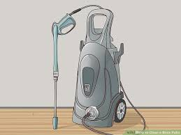 Cleaning Patio With Pressure Washer 3 Ways To Clean A Brick Patio Wikihow