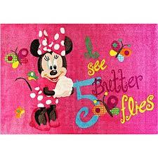 Minnie Mouse Rug Bedroom Kids Rugs Nursery Rugs Kids Floor Rugs Zanui