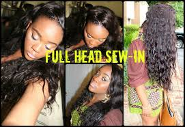 full sew in weave with no hair out dabbs 100 natural hair full head sew in with no hair out youtube