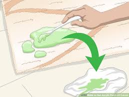 3 ways to blend acrylic paint wikihow 4 ways to get acrylic paint carpet wikihow