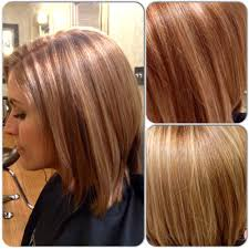 light reddish brown with blonde highlights red hair pinterest