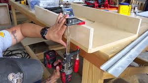 Ridgid Router Table Rockin U0027woodwerks Ridgid R4512 Router Table Extension Wing Youtube