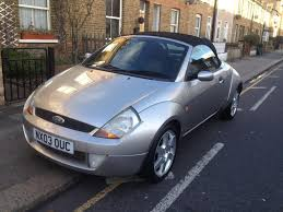 2003 convertible ford streetka 1 6 with long mot quick sale in