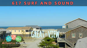 Nags Head Beach House Rental 617 surf and sound beach rentals outer banks nags head north