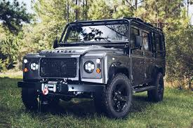 land rover discovery custom meet the brand turning old land rovers into masterpieces