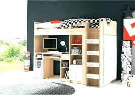bureau lit mezzanine lit combine mezzanine lit combine lit multifonction momo gris et