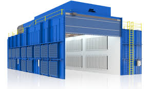 paint booths spray booths spray systems state shipping