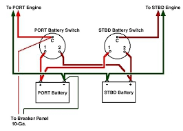 marine battery switch wiring diagram wiring diagram and
