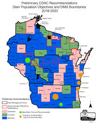 Map Of Northern Wisconsin by Cdac Wisconsin Dnr