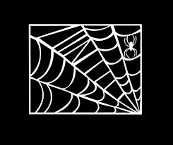 image of clipart spider web creepyhalloweenimages