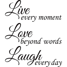 Live Love Laugh | design on style live love laugh vinyl wall art quote free