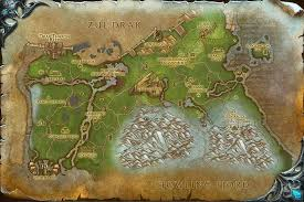 map quests grizzly map with locations npcs and quests of warcraft