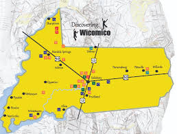 Md County Map Discovering Wicomico Local Heritage Sites Wicomico County Md