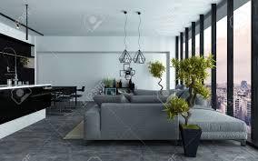 moderne offene wohnzimmer haus design ideen