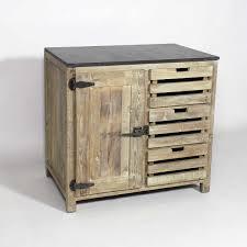 cuisine bois recyclé 5 blocs authentiq made in meubles