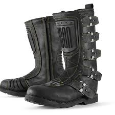 ride tech motorcycle boots icon 1000 elsinore johnny black u2026 icon 1000 go fast look