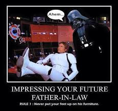 Father In Law Meme - impress your father in law star wars memes pinterest