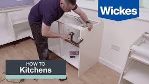 how to fix kitchen base cabinets to wall how to install base cabinets with wickes