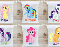 My Little Pony Gift Wrapping Paper - my little pony favor etsy