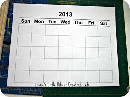 publisher understated calendar free calendar template