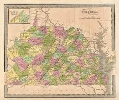 Map Of Virginia by File 1848 Greenleaf Map Of Virginia Geographicus Virginia