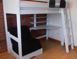 Bunk Bed Futon Combo Futon Bunk Bed With Desk Beds Metal Assembly Combo