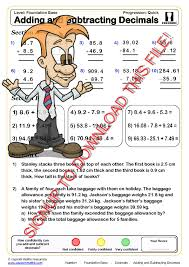 30 free maths worksheets cazoom maths worksheets
