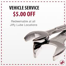 oil change coupons jiffy lube coupons tire brake alignment