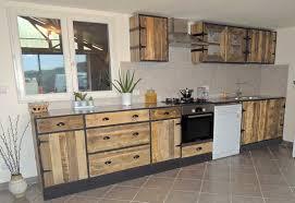 cuisine en palette bois impressionnant cuisine en palette et cuisine en bois de palette