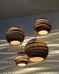 Pendant Lighting Fixture Pendant Light Fixtures Made Of Corrugated Paper Contemporary