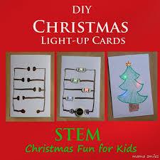 make christmas cards diy light up christmas cards