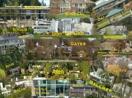 seattle mansions map of the stars cruises