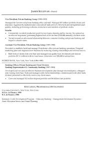 Finance Executive Resume Samples by Finance Resume Examples Resume Badak