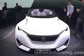 peugeot sports car 2015 peugeot fractal concept u2013 2015 frankfurt motor show live
