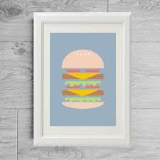 affiche cuisine affiche cuisine burger poster burger affiche cuisine poster