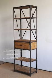 Iron And Wood Bookcase Furniture Home Modern Bookcase Metal Bookcase Design Modern 2017